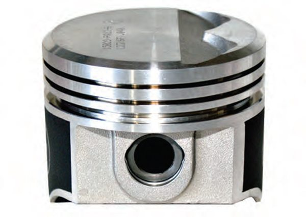 """New Set Sealed Power Mopar 360 Flat Top .030/"""" Pistons /& Pins w// Moly Rings Dodge"""
